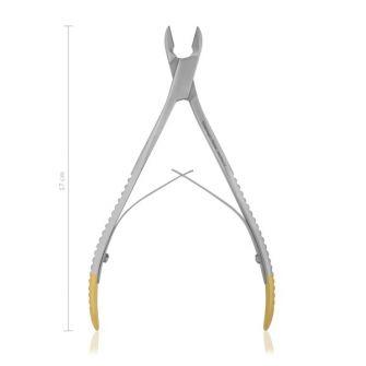 Zahnschneidezange und Knochenraspel für Nager