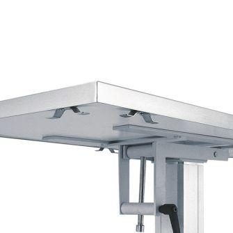 Fixierklampen / Ausbindehaken