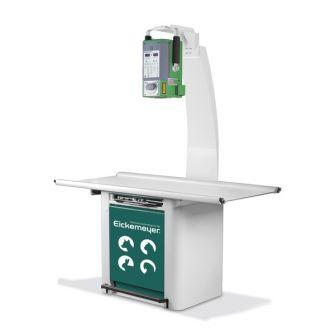 Paket HiRay 5 + Tischstativ + DigiVet® DR Röntgenpanel inkl. Installation & Einweisung
