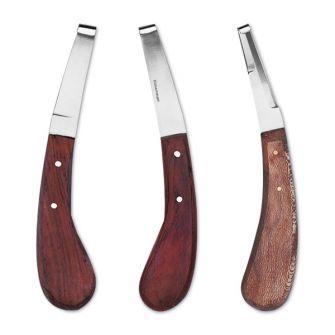 Hufmesser mit Holzgriff