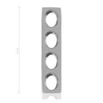 1,5 / 2,0 mm Mini-Plättchen, selbstspannend