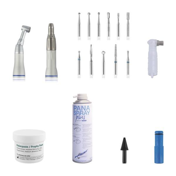 Kleintier Dental-Starterkit für EICKEMEYER® Zahnbohreinheit II und EickSonic PLUS