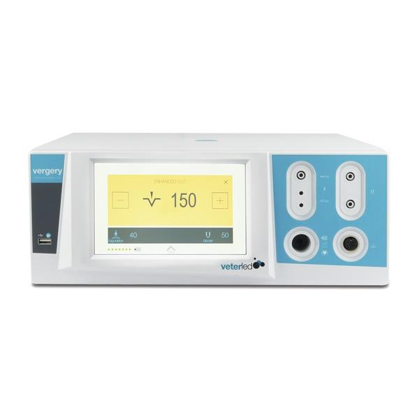 Elektrochirurgiegerät vergery mit Touchscreen