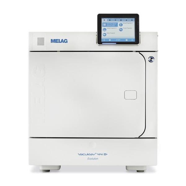 MELAG Vacuklav 44 B+ Evolution (inkl. Tabletthalterung und Tablett)