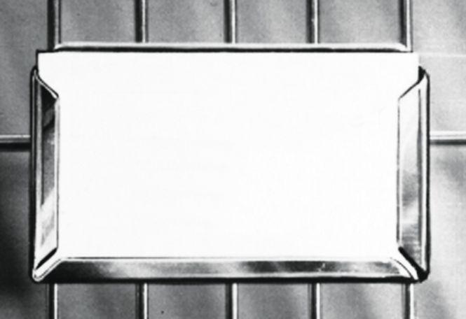 Halter für Identitätskarten für Käfige