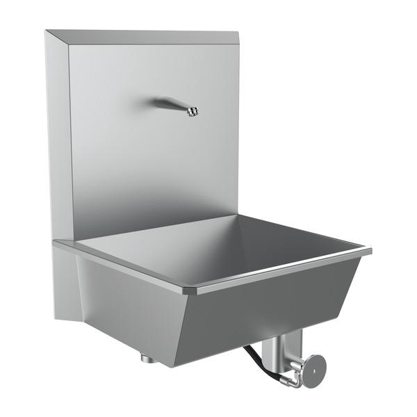 OP-Handwaschbecken aus Edelstahl
