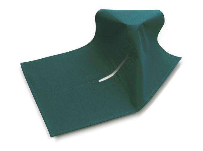 OP-Abdecktücher aus Baumwolle mit eingefasstem Schlitz